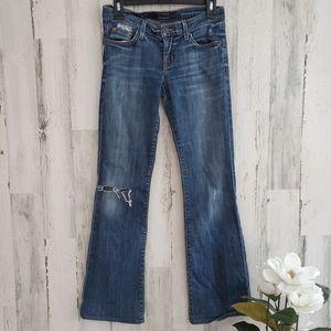 Hudson StressedJeans